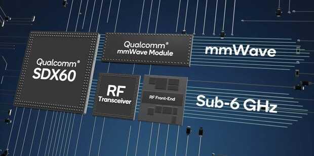 Snapdragon X60: primer módem 5G de 5nm más pequeño y potente