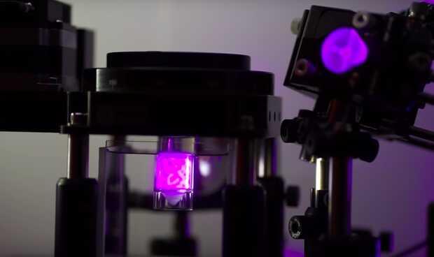 Impresión 3D pequeña, suave, precisa y rápida usando luz