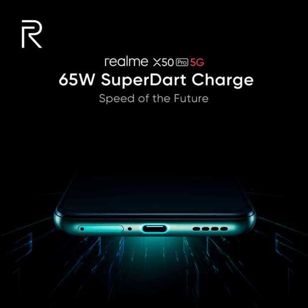 Realme X50 Pro 5G tendrá la mejor carga rápida del mercado