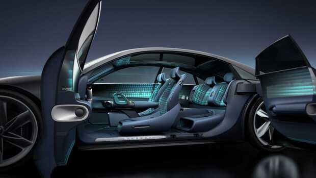 Hyundai Prophecy: prototipo de auto eléctrico que se maneja con joysticks