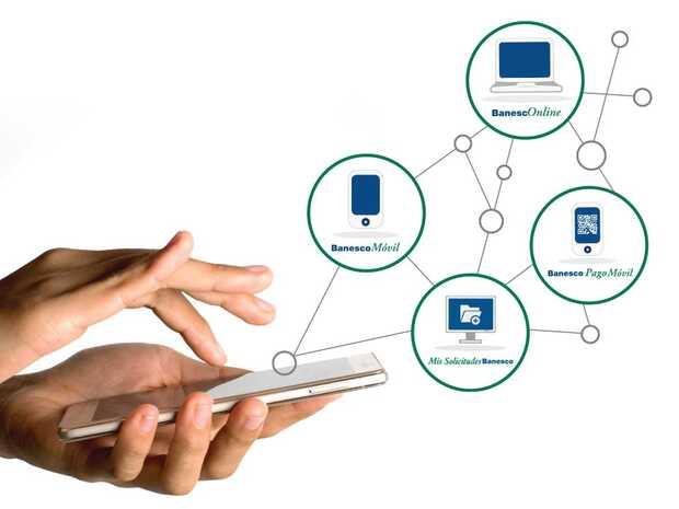 Canales digitales Banesco estarán en pleno funcionamiento