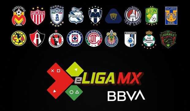 e-LEAGUE MX BBVA: en vivo por TV primera liga virtual de fútbol de México