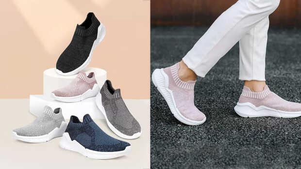 Nuevos zapatos Xiaomi ultraligeros y con plantilla antibacteriana e impermeable