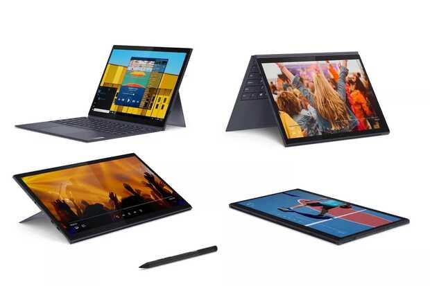 Lenovo lanza dos nuevas tablets con teclados Bluetooth desmontables