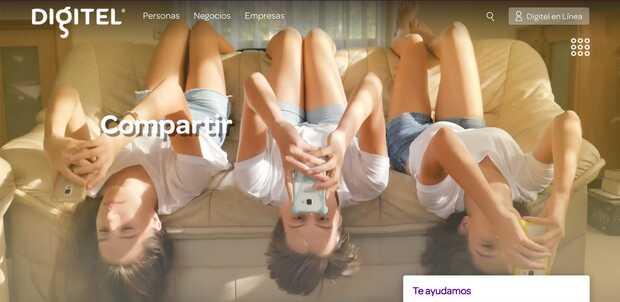 Digitel renueva su portal web y le añade nuevas opciones de recargas y pagos
