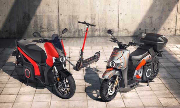 SEAT presenta scooter eléctrico para la movilidad urbana