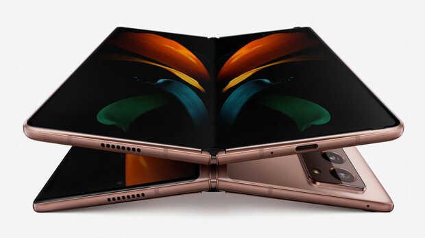 Samsung presenta el Galaxy Note 20 y su nuevo teléfono plegable