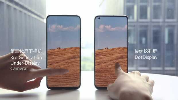 Xiaomi tiene listo su móvil con la cámara frontal escondida detrás de la pantalla