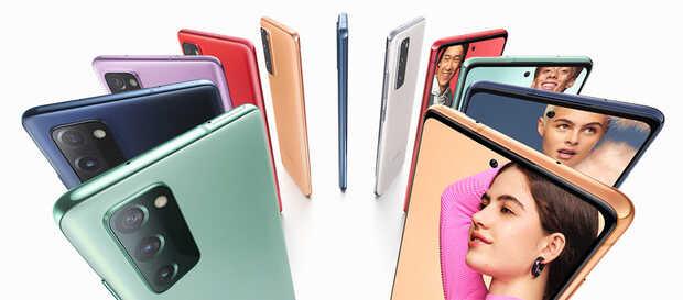 Samsung Galaxy S20 FE multicolor: precio y características
