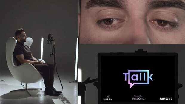 """Tallk: Aplicación que permite """"hablar"""" a través de la mirada"""
