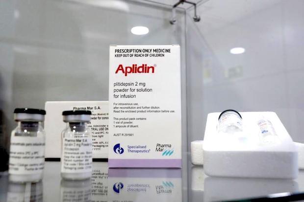 Aplidin, un fármaco anticancerígeno basado en la molécula plitidepsina podría convertirse en el primer medicamento con una efectividad probada a la hora de reducir la carga viral en la primera semana de la infección por Covid-19.