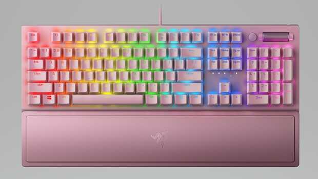 Nuevo teclado para juegos Razer BlackWidow V3 llega envuelto en rosa