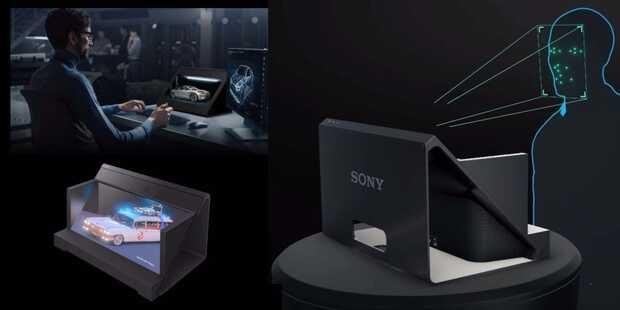 Nueva pantalla Sony permite a los creadores dar vida a sus ideas en 3D