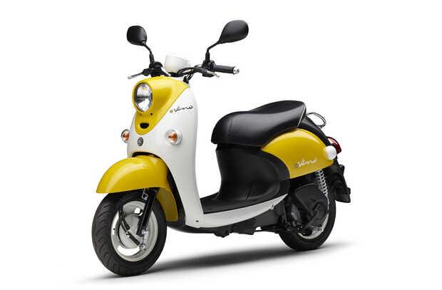 e-Vino: elegante y ligera moto eléctrica tipo Vespa de Yamaha