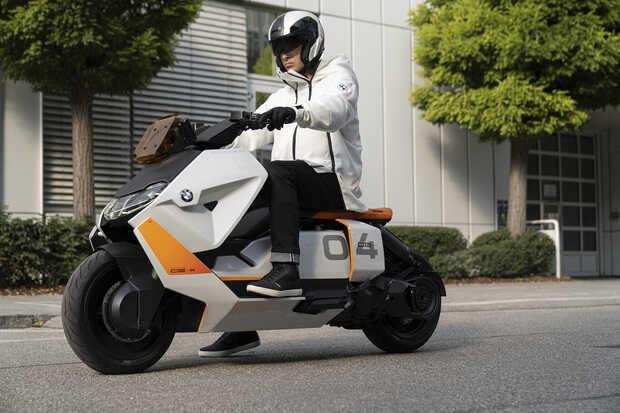 BMW Motorrad un scooter eléctrico que revolucionará la movilidad urbana