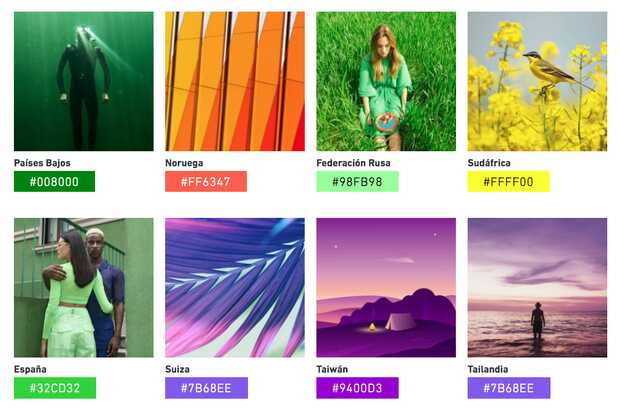 Tendencias de colores para 2021 según Shutterstock