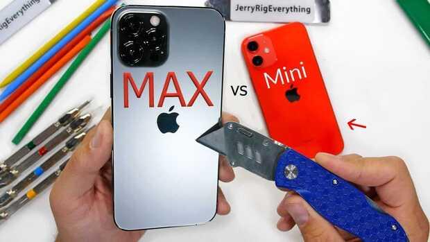 iPhone 12 mini y 12 Pro Max sobreviven a brutal prueba de durabilidad
