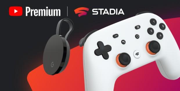 Stadia Premiere Edition gratis con YouTube Premium también en España