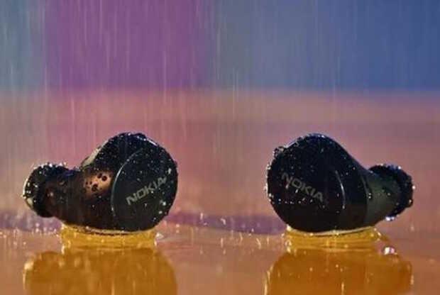 Nuevos auriculares inalámbricos Nokia a prueba de agua y 35 horas de uso continuo