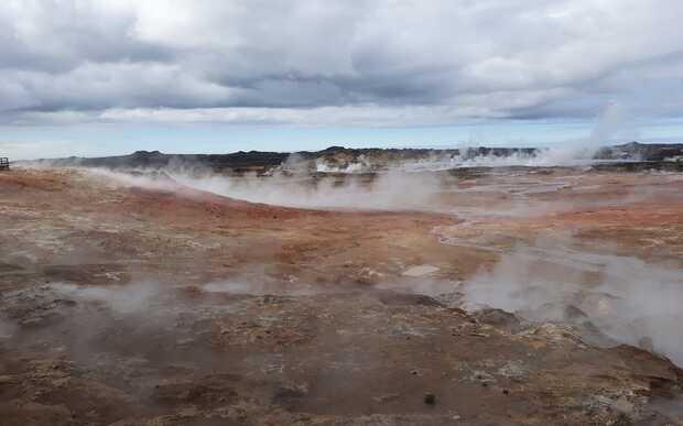 Para buscar vida en Marte ensayan en Islandia método de análisis biogeoquímico