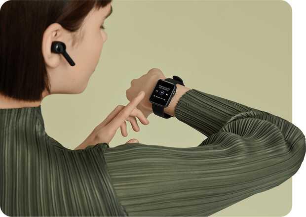 Xiaomi Mi Watch Lite llega con diseño cuadrado y batería de 9 días de duración