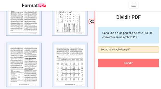 Dividir PDF gratis y 100% online, así de fácil puedes separar tu archivo