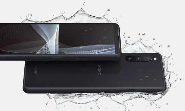 Sony Xperia 10 III con 5G, compacto y resistente al agua