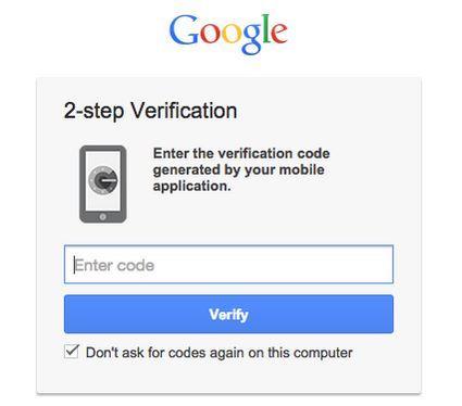Google activará automáticamente la autenticación de dos factores en todas las cuentas aptas