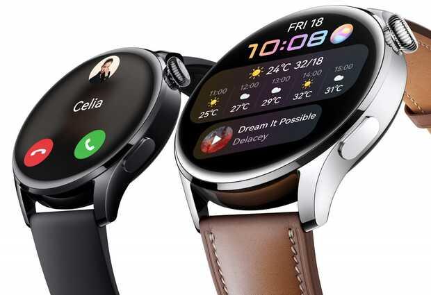 HUAWEI Watch 3 y Watch 3 Pro: relojes inteligentes con HarmonyOS que detectan la temperatura
