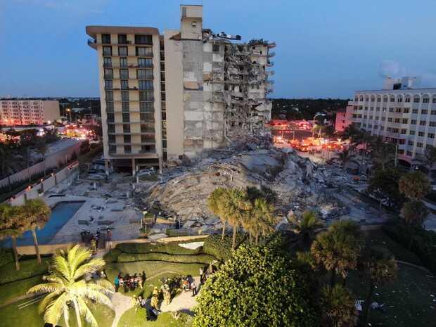 Surfside: tecnología que ayuda a rescatistas en edificio colapsado de Miami
