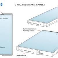 Samsung patenta teléfono inteligente enrollable con cámara oculta para selfies