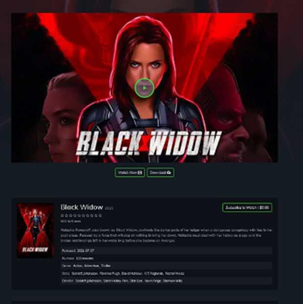 Estreno de la película Viuda Negra es usado como gancho para nueva ola de ciberestafas