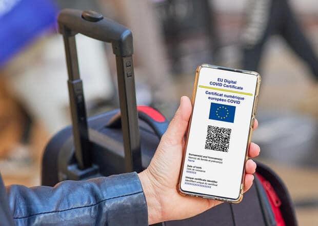 Entra en vigencia Certificado COVID Digital válido para viajar en toda la Unión Europea