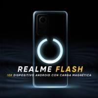 Realme Flash: primer teléfono con carga magnética de Android