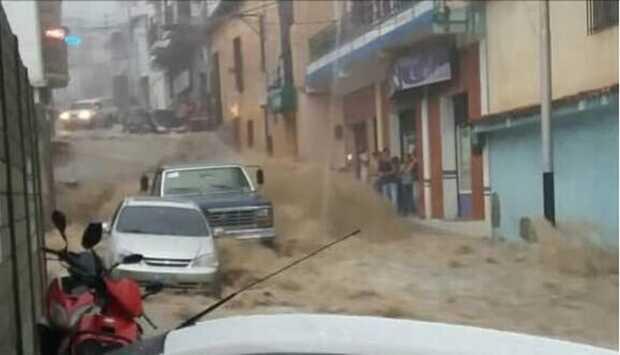 lluvias en Mérida