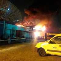 Incendio en almacén principal de Inter:  la empresa garantiza la continuidad de sus servicios