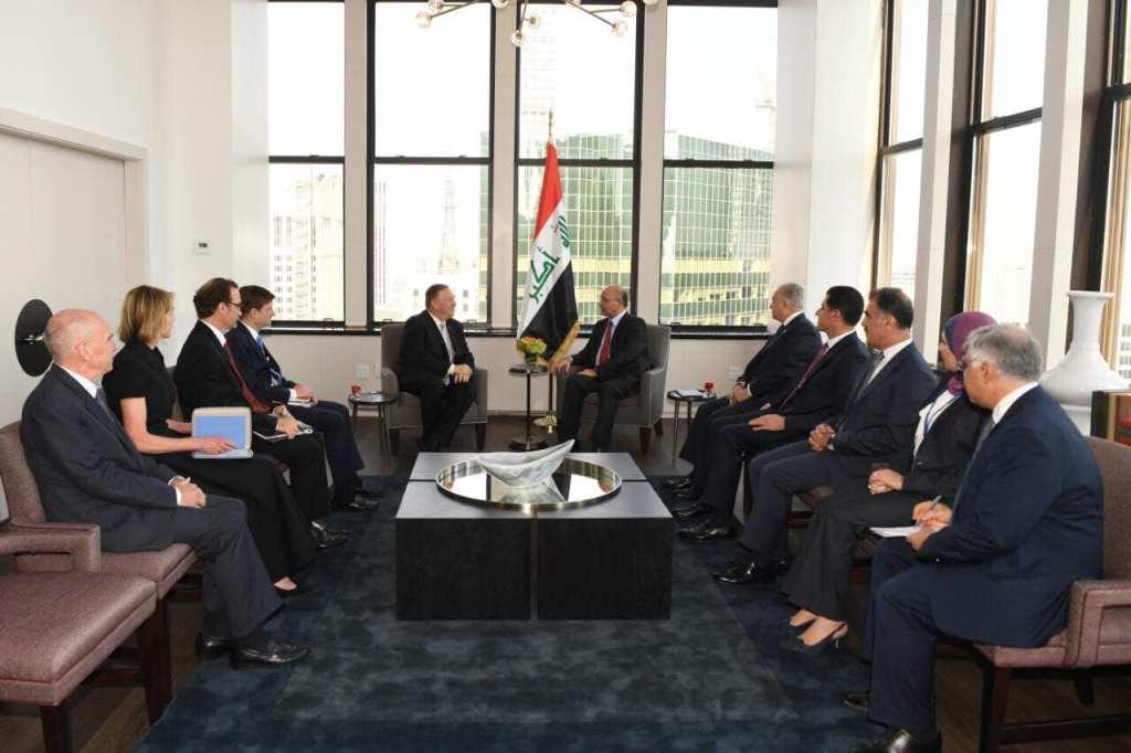 Holding an Iraqi-Jordanian-Egyptian tripartite summit in America 71072962_2806541529380530_7357070105198460928_o