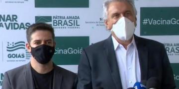 Ismael Alexandrino e Ronaldo Caiado