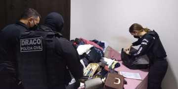 Polícia Civil de Goiás investiga o grupo há mais de um ano e meio. Foto: divulgação/PC-GO.