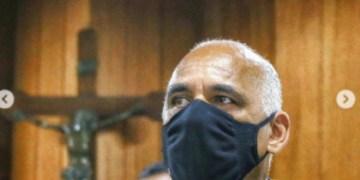 Rogério Cruz, em sua posse: já são 100 dias de gestão (Foto: Prefeitura de GOiânia)
