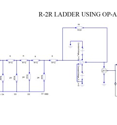 r 2r ladder using op amp [ 1293 x 684 Pixel ]