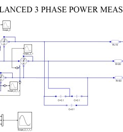 three phase power measurement unbalanced load for capacitive and resistive loads [ 1301 x 718 Pixel ]