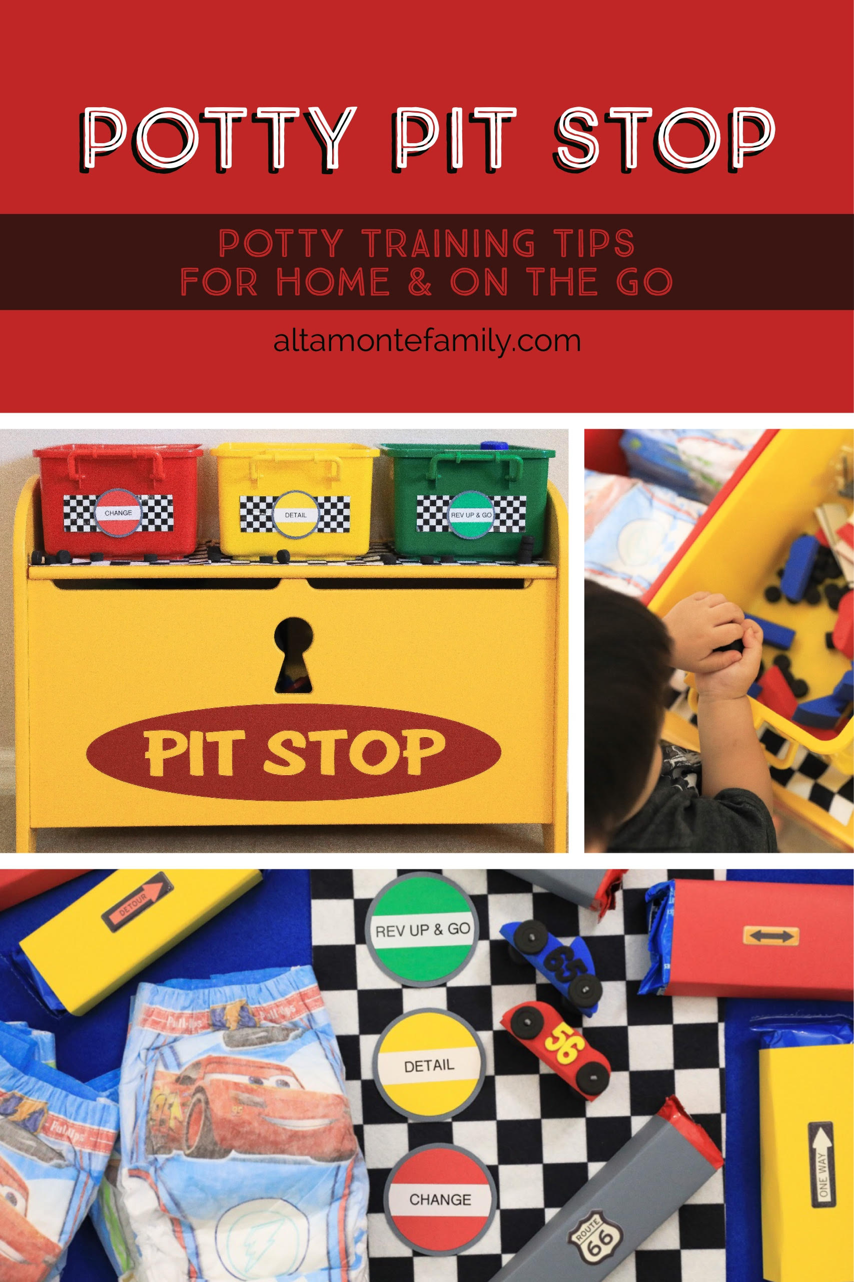 The Potty Pit Stop