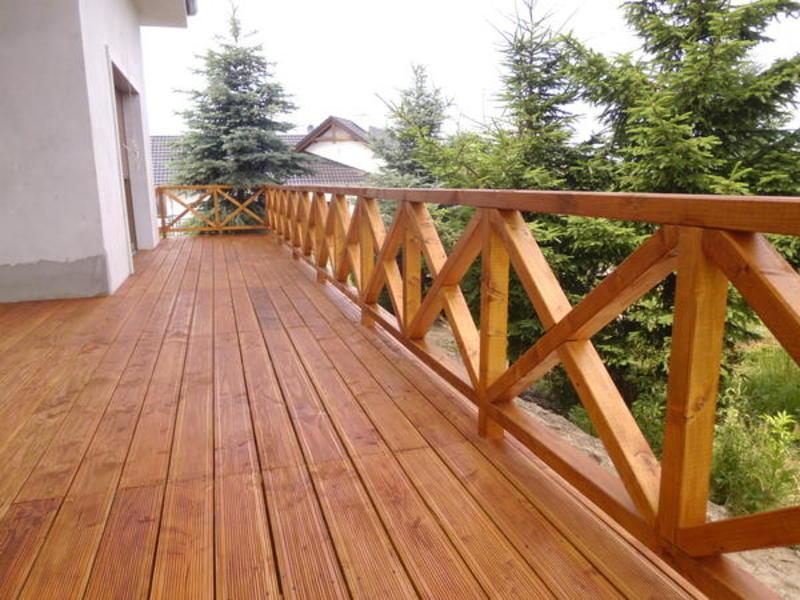 Balustrady I Tarasy Altan Bud Wyroby Z Drewna