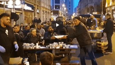 صورة بالفيديو.. إفطار متعدد الجنسيات في فرانكفورت
