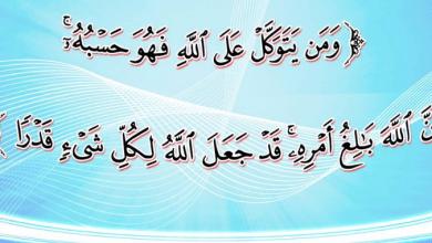 صورة القرآن لا يدعو إلى التواكل