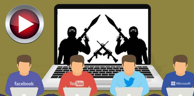 المحتوى الإرهابي