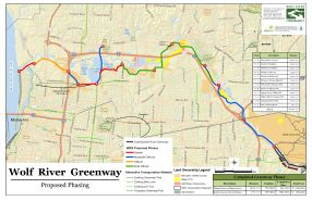 Wolf River Greenway Map