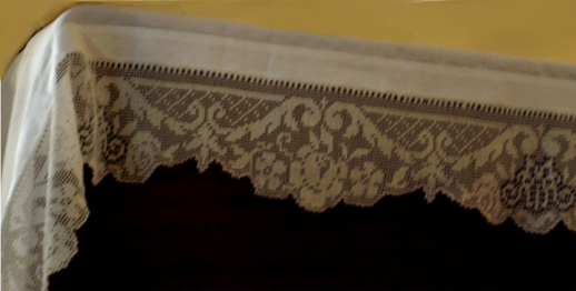 Lace Patterns For Altar Cloth Kankakee Tlm