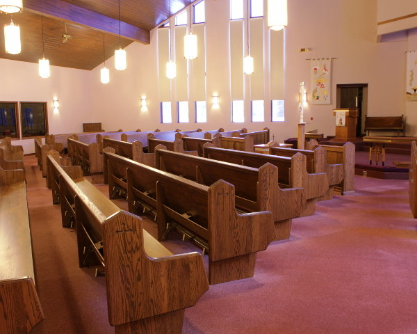 If Aladdin Were a Woodworker Old Church Pews Become New